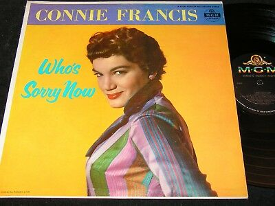 CONNIE FRANCIS Who's Sorry Now / US Mono LP 1957 MGM E3686