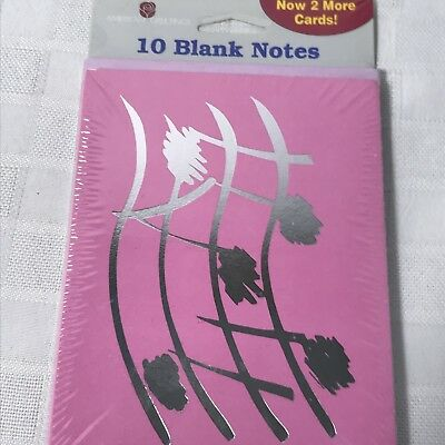 American greetings 12 note card designer collection elvis presley american greetings blank note cards 10 count pink silver m4hsunfo