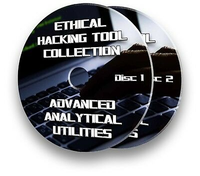 ETHICAL HACKING UTILITY TOOLS - ADVANCED ANALYTICAL TOOLS PLUS TUTORIAL DVDs