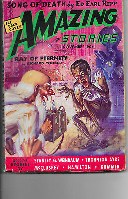 Amazing Stories Vol.12 #6 Song Of Death Ed Earl Repp 1938