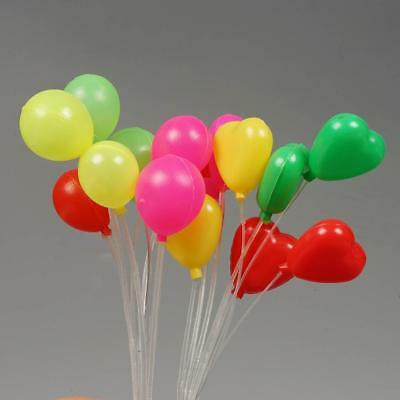 Dollhouse Miniature Scale 1:12 Living Room Plastic Multicolor Balloon String Toy