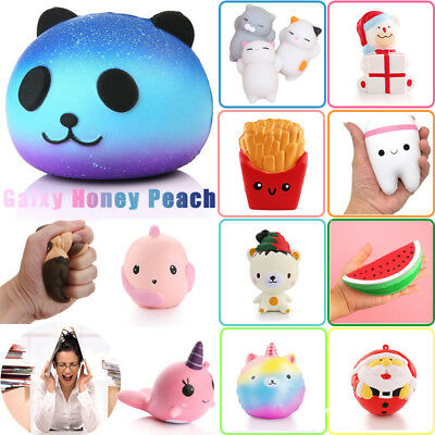 Jumbo Slow Rising Squishies Scented Charms Kawaii Squishy Squeeze Toy Kids Gifts