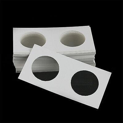 "50PCS/Box Stamp Coin Holders Cover Case Storage 33mm 2X2"" Flip Wholesale HIGH"
