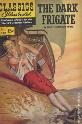 Classics Illustrated 132 The Dark Frigate #4 1967 GD/VG 3.0 Stock Image