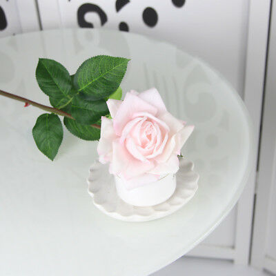 Artificial Rose Silk Flowers Real Touch Flower Floral Valentines Wedding Bouquet