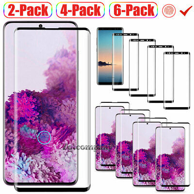 For Samsung Galaxy Note 9 8 Premium Tempered Glass Screen Protector Film Clear
