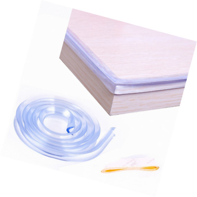 DEDAO 3.28ft Soft Clear Corner Protectors, High Resistant Adhesive Gel Baby Proo
