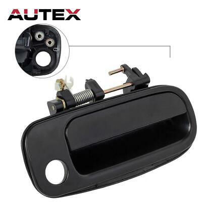 Black Exterior Front Right Door Handle Passenger Side for 1993-1996 Toyota camry