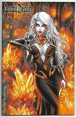 Lady Death: Unholy Ruin #1 Jewel Edition Variant Cover by Dawn McTeique 237/300