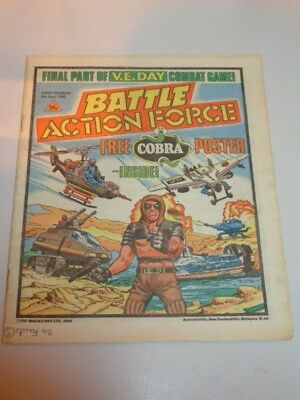 Battle Action Force British Weekly Ipc 8Th June 1985^