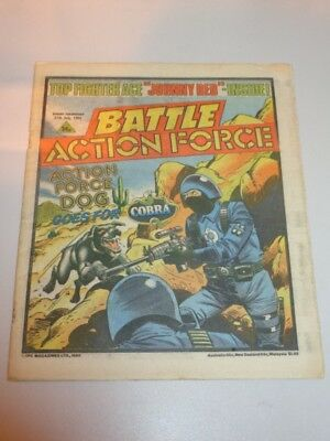 Battle Action Force British Weekly Ipc 27Th July 1985^