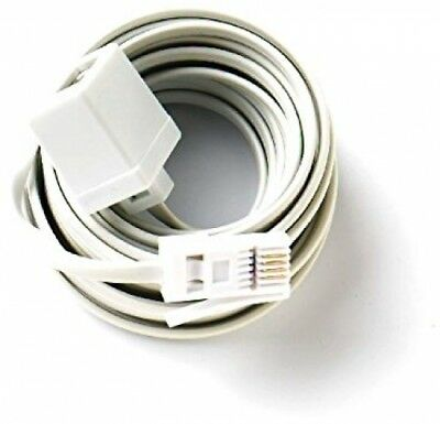 Bulk Hardware BH03021 Telephone Extension Cable, 20M (65ft)