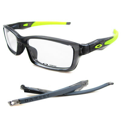 Oakley RX Glasses Frames Crosslink 8027-02 Grey Smoke