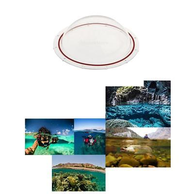 Dome Port 6 inch Lens Hood Cover for GoPro HERO 54/3+3 Underwater Camera