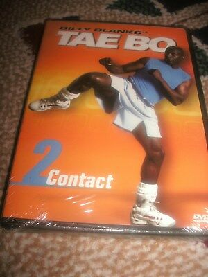 NEW! Billy Blanks Tae Bo 2 Contact DVD