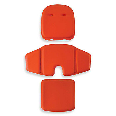 NEW OXO Tot Sprout Chair Replacement 3pc Cushion Set Orange #6309400 - SAVE $$!!