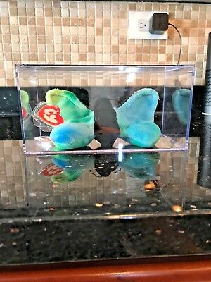 AUTHENTIC TY BEANIE BABY FLUTTER THE BUTTERFLY 3rd gen MINT tag beautiful colors