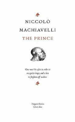 Penguin Great Ideas : The Prince by Niccolo Machiavelli | Paperback Book | 97801