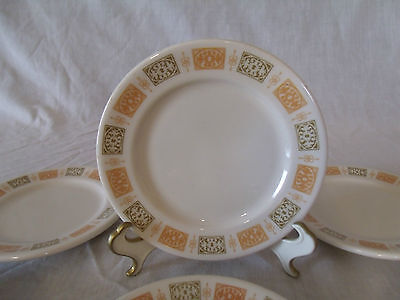 (ONE) VINTAGE SHENANGO CHINA Restaurant Ware Scroll Panel SAUCER