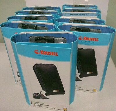 Wholesale lot of 10 krussel leather Case for Motorola Droid Cell Phone Pouch
