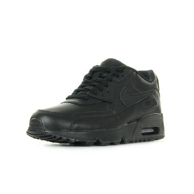 90 CHAUSSURES Max Leather unisexe BASKETS taille Noir Air GS NIKE XqTXp
