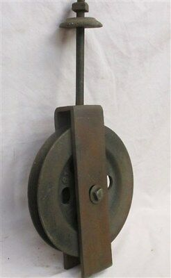 Barn Door Carriage House Rolling Hardware Vintage Pulley Architectural Salvage h