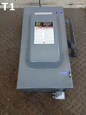 Square D DU323 Safety Disconnect Switch 100A 240VAC