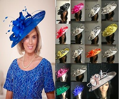 Nigel Rayment Assorted Disc Fascinator Hats Ascot Occasion Mother Of The Bride