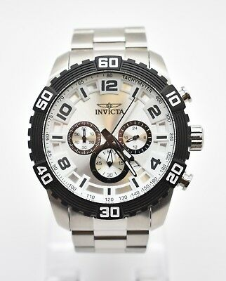Invicta Men's 48mm Pro Diver Scuba Quartz Chronograph Watch 24601