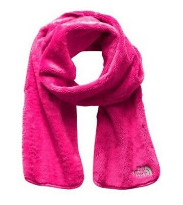 NEW The North Face Girls Denali Thermal Winter Fleece Scarf OS Pink