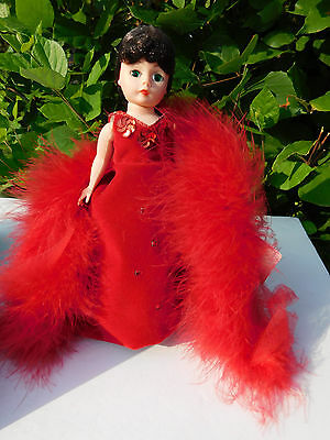 Scarlett Red Dress Madame Alexander 8 inch Doll 161106