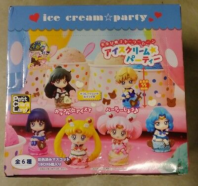 Petit Chara Land Sailor Moon ice cream party 6 pieces complete box MegaHouse