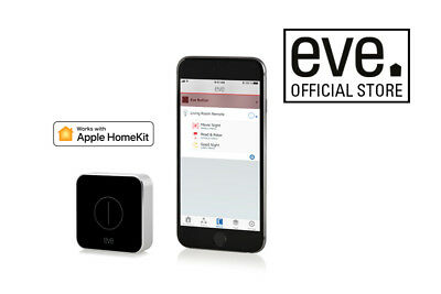 Eve Button Connected Home Remote with Apple HomeKit Technology