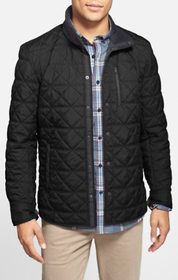 NWT Men's Victorinox Bernhold II Quilted Thermore® Insulated Jacket-Black -Small