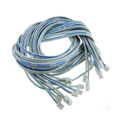 10pcs PH 2.0mm Pitch 2Pin Both Side Female Connector with 26AWG 600mm Cable s736