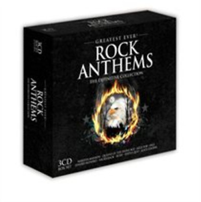 Various Artists-Greatest Ever Rock Anthems  (UK IMPORT)  CD / Box Set NEW