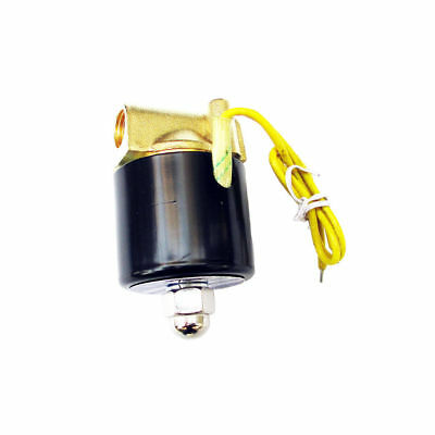 1/4 inch 110V 115v 120V AC Brass Electric Solenoid Valve NPT Gas Water Air N/C