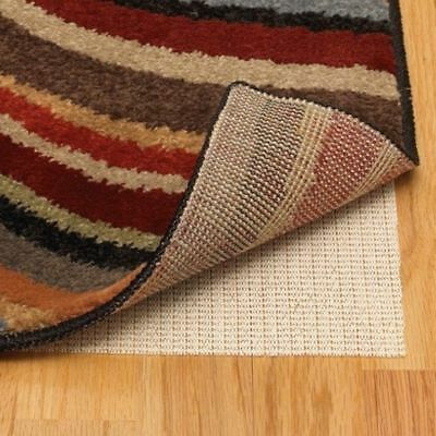 RUG GRIP Rubber Non-Slip 7 SIZES non slip Rug Underlay Pad Hard Floors