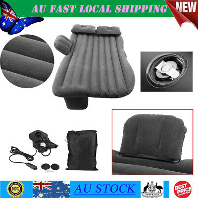 Durable Inflatable Car Back Seat Mattress Protable Travel Rest Camping Air Bed
