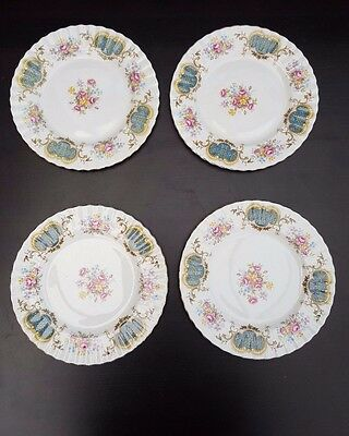 Royal Albert Berkeley  Salad / Dessert  Plates x 4
