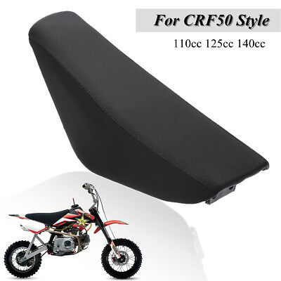 Black Flat Foam Seat For CRF50 Style 110cc 125cc 140cc Pit Pro Trail Dirt Bike