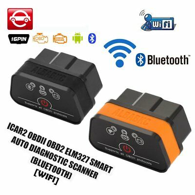 ACCAR2 BT/WIFI Quick Start OBD2 Code Reader Car Diagnostic Tool for IOS Android