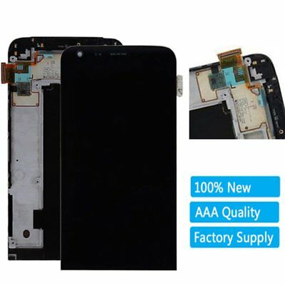 "For LG G5 H850 5.3"" Black LCD Display Digitizer Touch Screen + Frame Replacement"