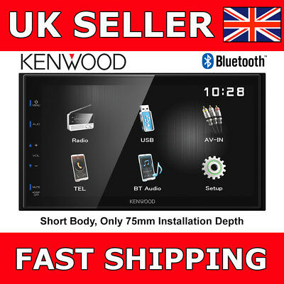 """Kenwood DMX-110BT Car Stereo 2Din Double Din Bluetooth 6.8"""" Media Receiver NEW"""