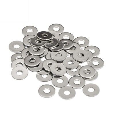 50Pcs M3 M4 M5 M6 M8 304-A2 STAINLESS STEEL LARGE SZIE FLAT WASHERS DIN125