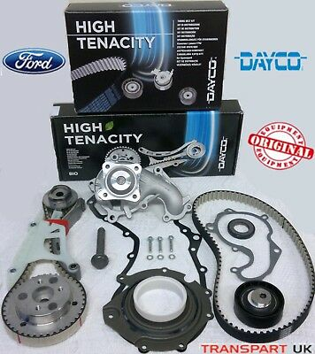 Ford 1.8 Diesel Tdci Timing Belt Kit And Lower Wet Belt Kit Water Pump Gaskets