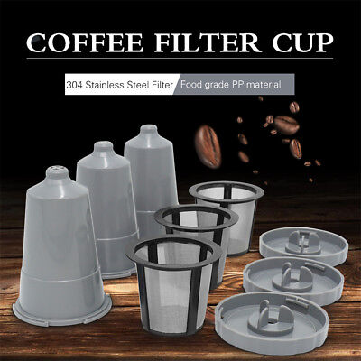 Reusable Refillable Coffee Capsule Pod Set Coffee Capsules For My K-cup Machine