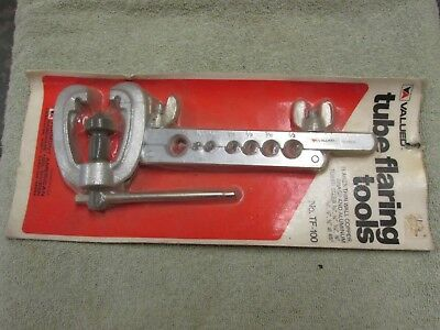 Vintage ~ Vermont American Part #TF-100  3/16-5/8 Tube Flaring Tool ~ NEW IN PKG