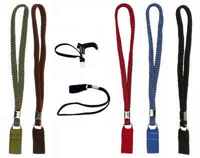Universal Walking Stick WRIST CORD Wrist Strap Loop Walkers & Cane Easy Fitted