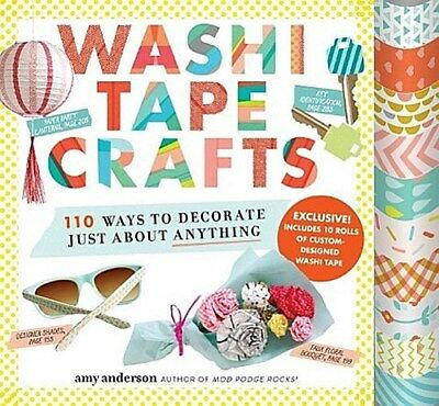 Washi Tape Crafts | Amy Anderson |  9780761184836